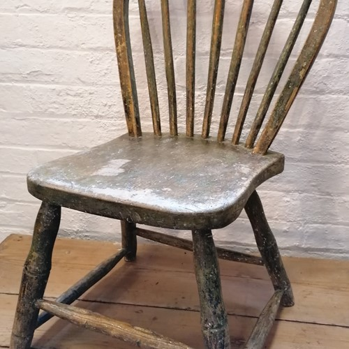 An 18th C Yealmpton side Chair