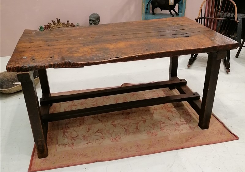 Good Solid 19th C English Folk Art Work Table-b-and-r-antiques-img-20201201-185753-main-637428540331778250.jpg