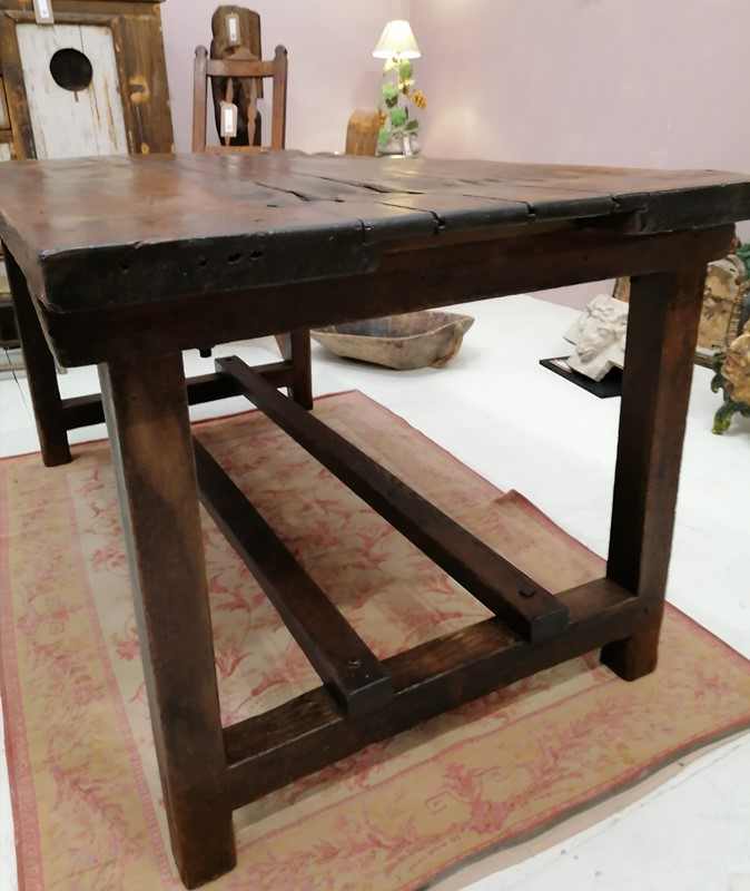 Good Solid 19th C English Folk Art Work Table-b-and-r-antiques-img-20201201-190138-main-637428538817562351.jpg
