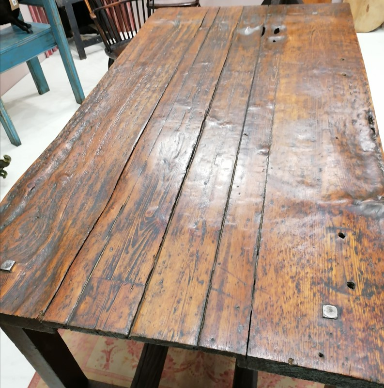 Good Solid 19th C English Folk Art Work Table-b-and-r-antiques-img-20201201-190346-main-637428537974757067.jpg