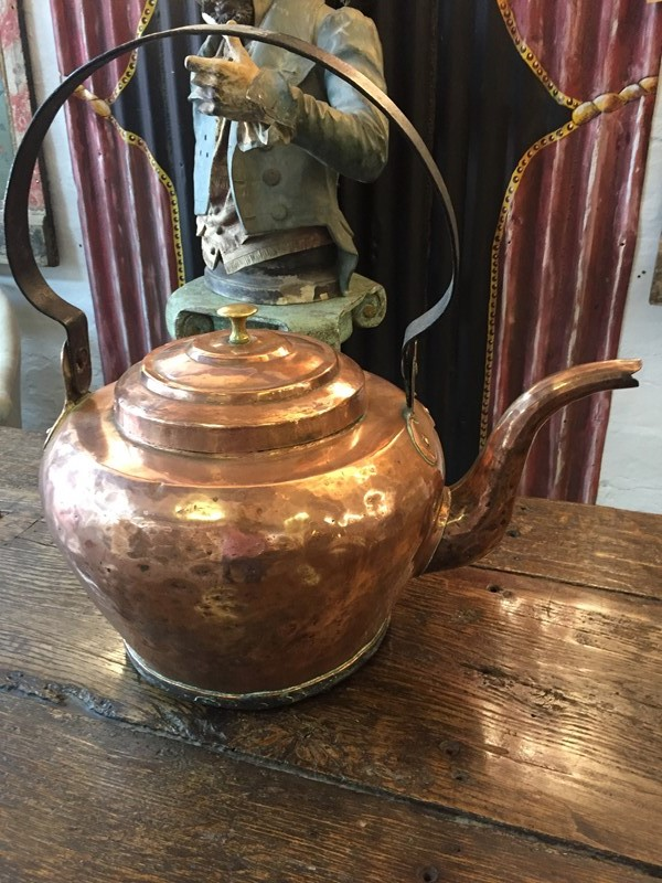 Impressive Victorian Large Copper Kettle-b-and-r-antiques-img-2948-main-636966608438739220.JPG