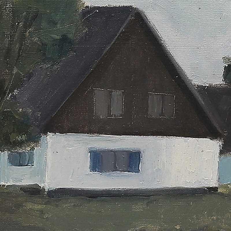 Mid Century, Swedish Painting, 'Home Again.'-barnstar-b0ca5641-13ba-4fe9-b414-b25965f08689-main-637328634523117372.jpeg