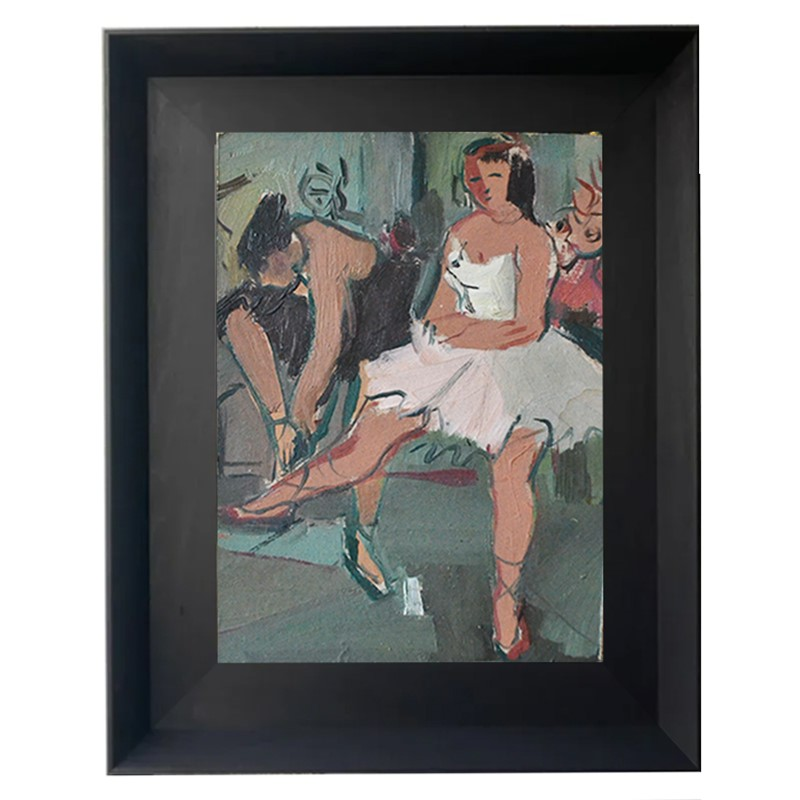 1940's French Ballerina Oil Painting-barnstar-french-ballerina-1-main-637481272271748146.jpg