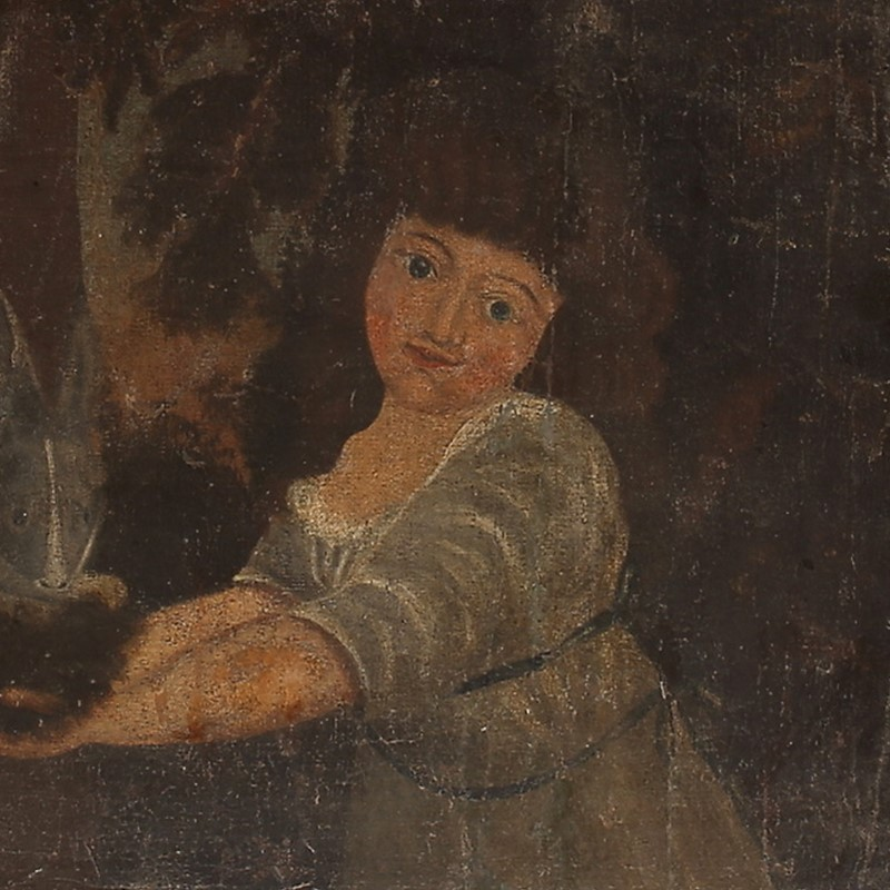 18th Century Oil Painting 'Girl with a Rabbit'-barnstar-girl-with-rabbit-2-main-637159211515124079.jpg