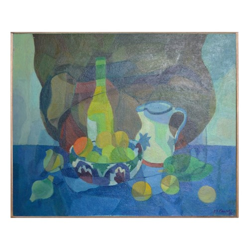 Painting, 'Jug, Bowl and Bottle.' Horas Kennedy