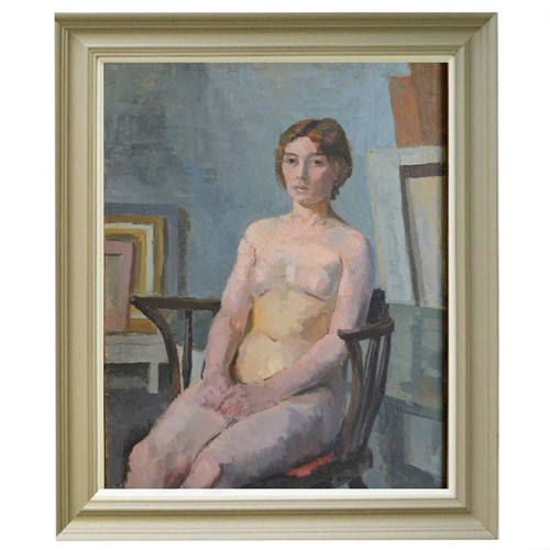 'Nude sitting in Chair,' Philippa Maynard Romer