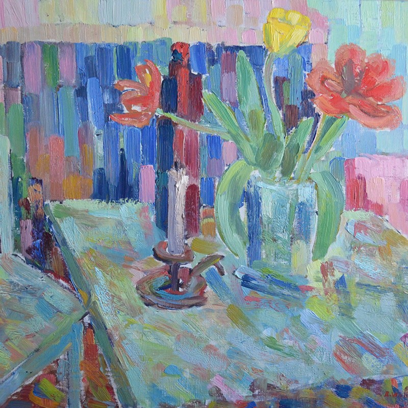 1979, Large Painting, 'Red and Yellow Tulips.'-barnstar-red-tulips-deet1-main-636855029954614366.jpg