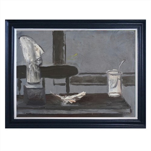 1981, swedish still life painting, bo wetteryd