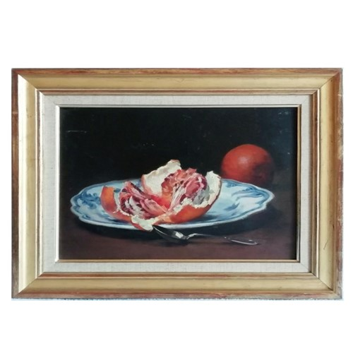 Painting, 'Valencian Plate with Oranges.'