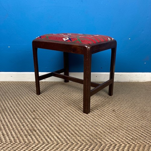 Early C19th Mahogany Stool