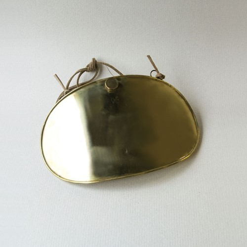 Brass tummy warmer