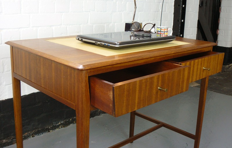 1960 Mid Century 2 Drawer Console Table Small Desk-billy-hunt-1960s Desk_0011_P1250039-main-636622635253200906.jpg