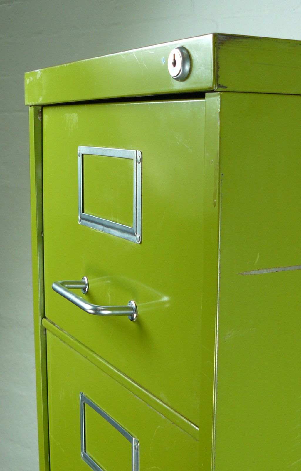 Green File Cabinet Vintage Narrow Six Drawer Pea Green Metal Cabinet The Hoarde