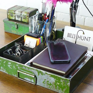 Vintage drawer, the perfect desk tidy
