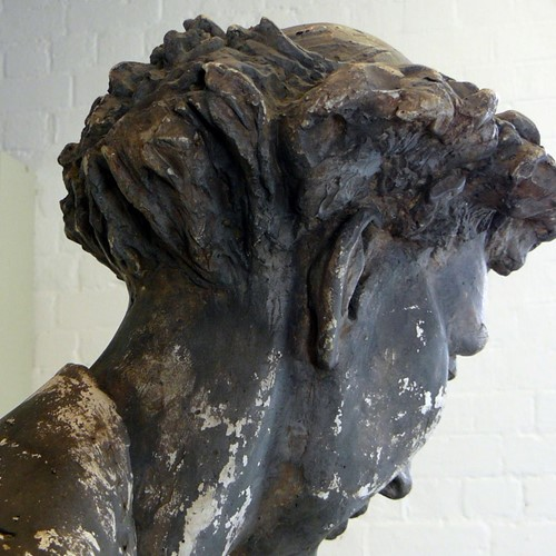 Life Size Sculpture By Mary Milner Dickens