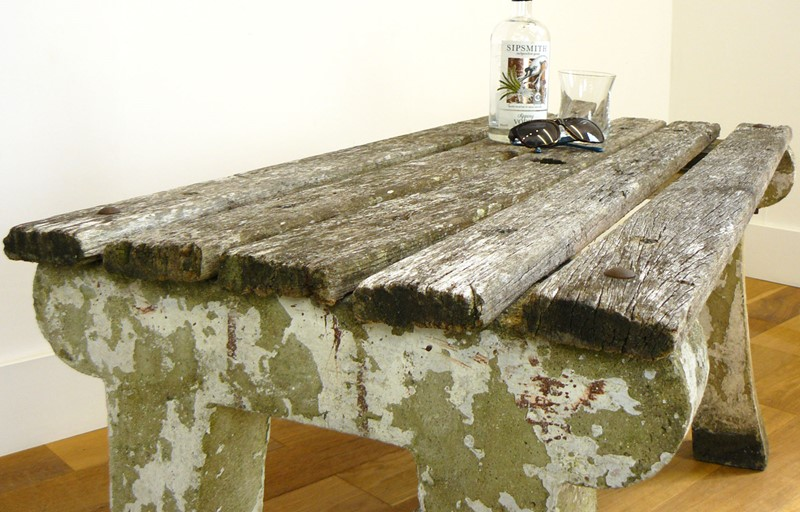 1930s Concrete and Wood Garden Bench Table-billy-hunt-vintage-concrete-canalside-table-0008-p1380062-main-637286108398468897.jpg