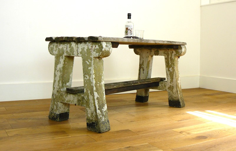 1930s Concrete and Wood Garden Bench Table-billy-hunt-vintage-concrete-canalside-table-0011-p1380059-main-637286108892191150.jpg