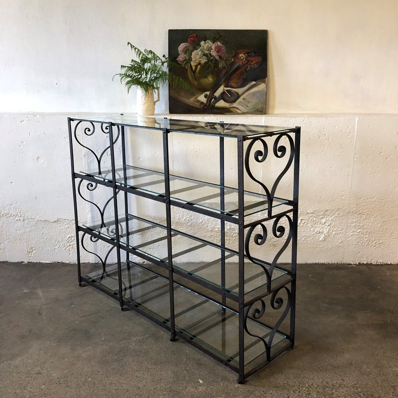19th Century Wrought Iron Deed Rack Shelving-blackthorn-living-img-7269msp-main-637328630053223560.jpg
