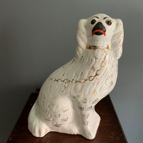 Large Staffordshire Pottery Beswick Dog