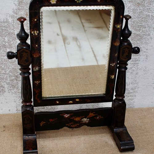 Victorian Chinoiserie Dressing Table Mirror