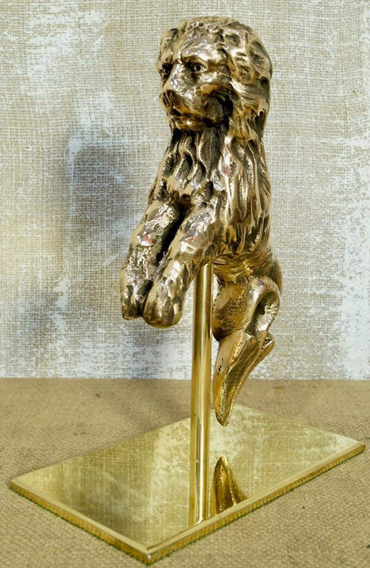 17th Century Bronze Mythical Serpent Lion On Stand-clubhouse-interiors-ltd--dsc3056-main-637401678783055565.jpeg