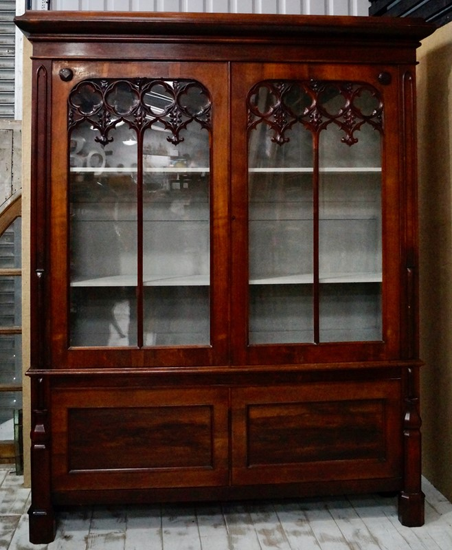 Antique Rosewood Gothic Bookcase-clubhouse-interiors-ltd--dsc4322-main-637473525905829737.jpeg