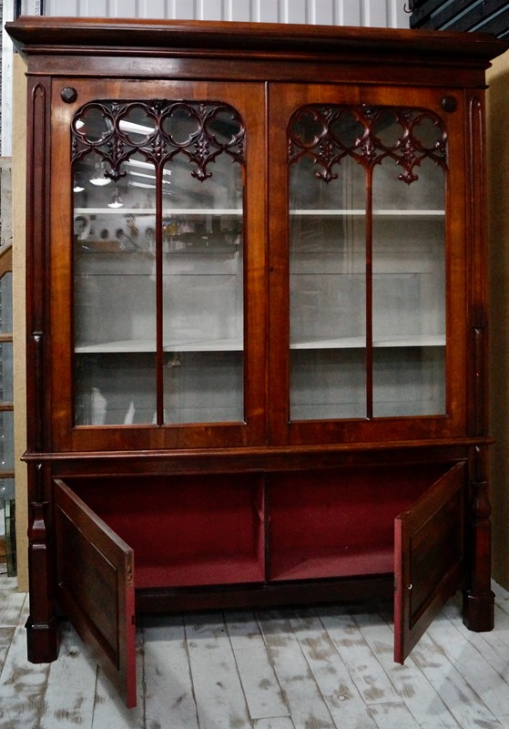 Antique Rosewood Gothic Bookcase-clubhouse-interiors-ltd--dsc4337-main-637473527136914831.jpeg