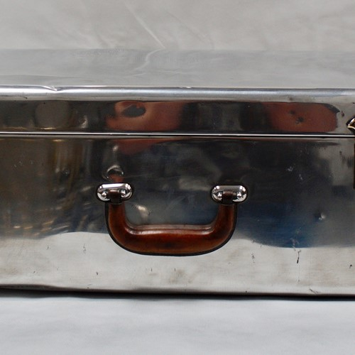 Polished Aluminium Suitcase by Heston's of London