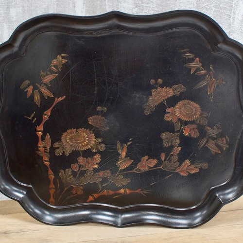 Victorian Chinoiserie Serving Tray