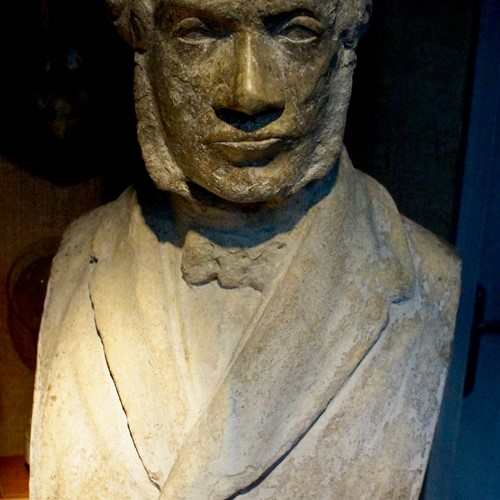 Georgian Marble Bust of William Gladstone