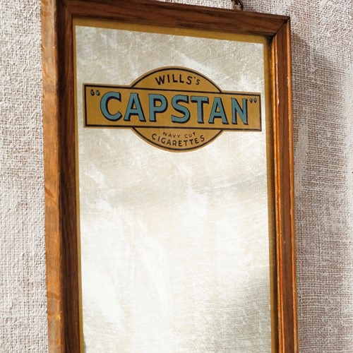 Will's Capstan Cigarette Mirror