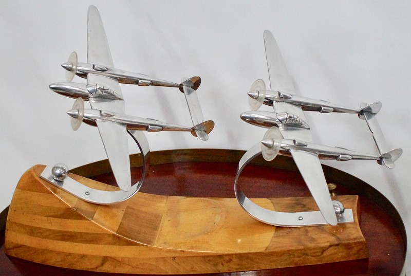 Art Deco Lockheed P - 38 Lightning Models on Stand-clubhouse-interiors-ltd-_DSC6988-main-636788256290804844.jpg