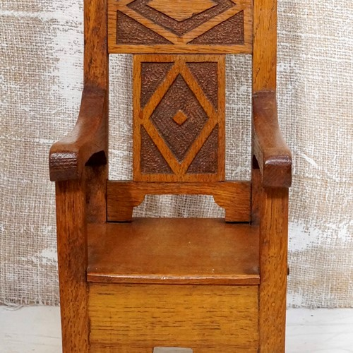 Miniature Oak Apprentice Chair