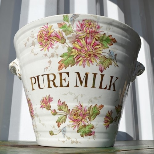 Florentine 'Pure Milk' Pail by Ashworth & Bros