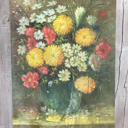 Floral Oil Painting - Flowers