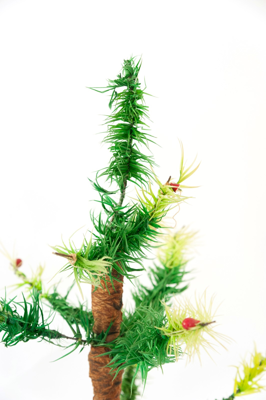 VINTAGE GERMAN GOOSE FEATHER CHRISTMAS TREE
