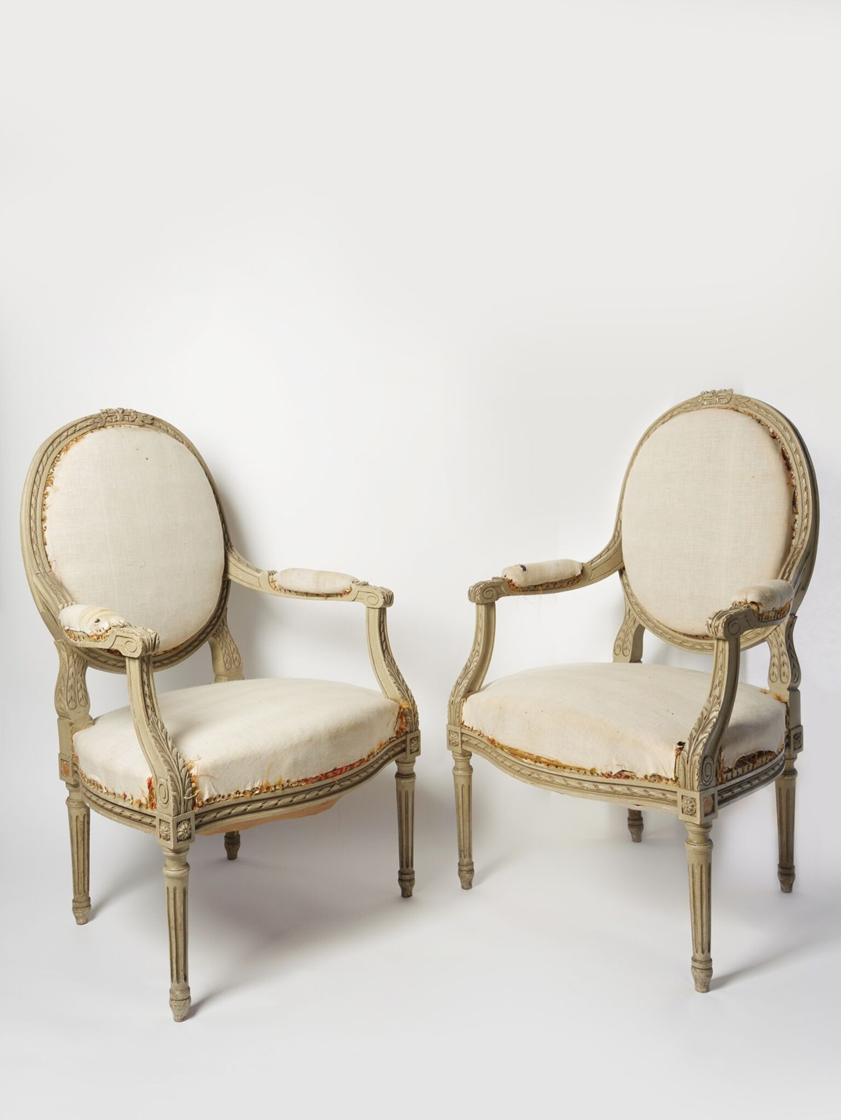 Zoom; PAIR BEAUTIFUL ANTIQUE FRENCH LOUIS XVI CHAIRS-decorative-antiques -uk-chairs69_main_636283958932905182. - PAIR BEAUTIFUL ANTIQUE FRENCH LOUIS XVI CHAIRS - The Hoarde