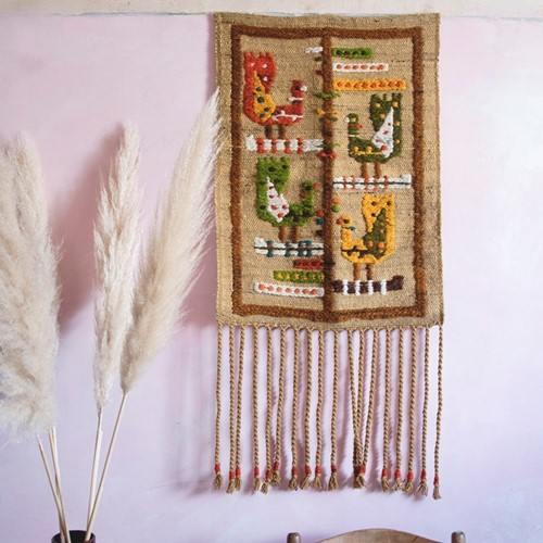 Vintage Wallhanging