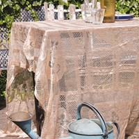Gold Lace Tablecloth #2
