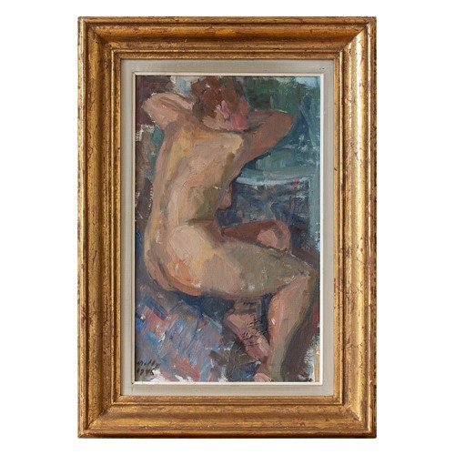Molly Lindell, Study Of A Female Nude