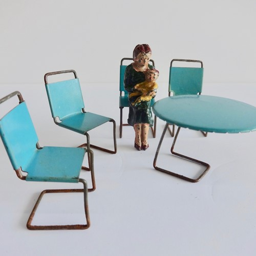 Bahaus Dolls Furniture Marcel Breuer Cesca Chairs