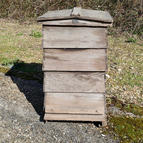 Vintage Edwardian Traditional Bee hive