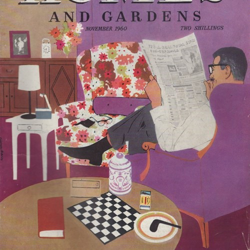 Vintage Homes And Gardens Magazines 1960's