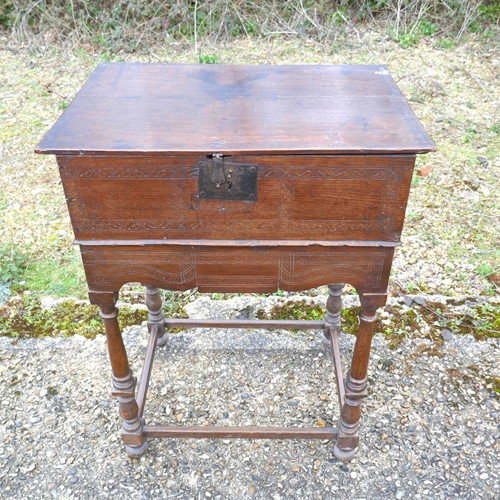 Oak Document Box English Civil War
