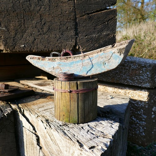 Greek Cargo Boat Salvage Sculpture No 7