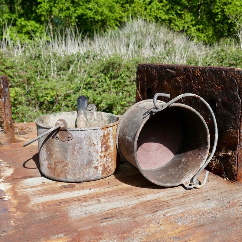 Pair of Galvanised Paint Kettles-eco-editions-paint-2-main-637242959807477716.jpg