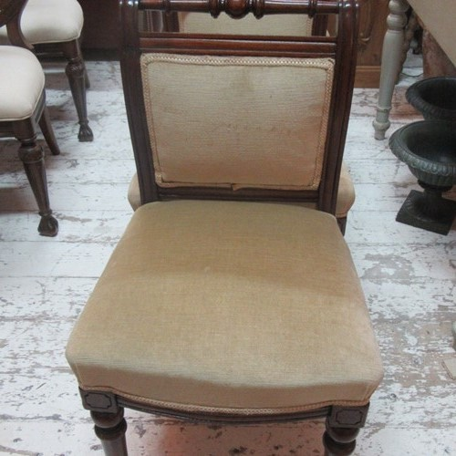 Set of Four Victorian Antique Dining Chairs