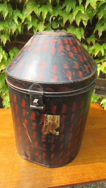 Antique Military Hat Tin / Box -eras-of-style-img-6509-main-636938642507466269.JPG
