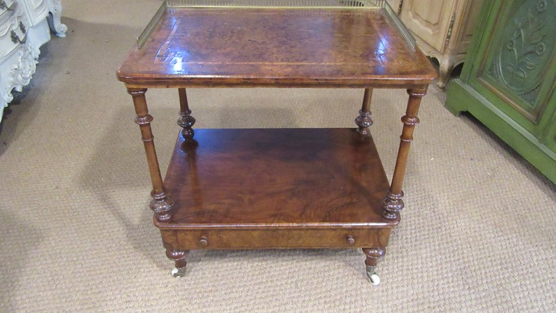 Antique Victorian Burr Walnut Two Tier Whatnot -eras-of-style-img-9622-main-637328474957135441.JPG
