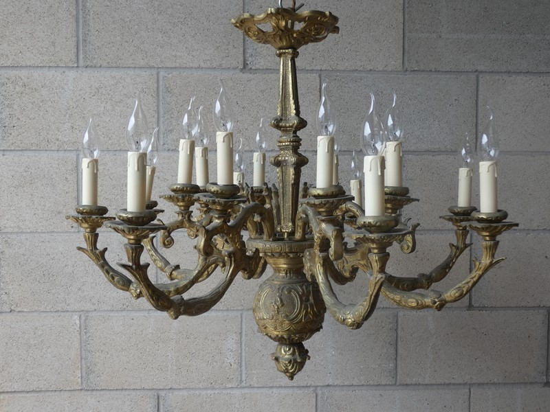 1890 solid cast brass gilded 2tier 8arm chandelier-exquisite-lighting-p1010287-main-637288758323621094.JPG